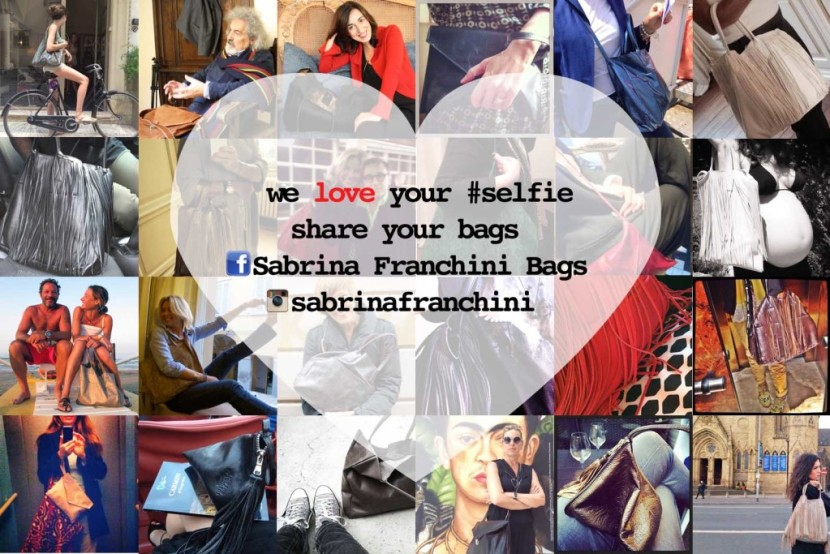We love your selfie share your bags