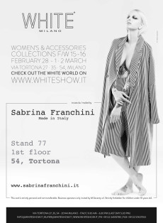 White Show 2015 – Women's & Accessories Collections