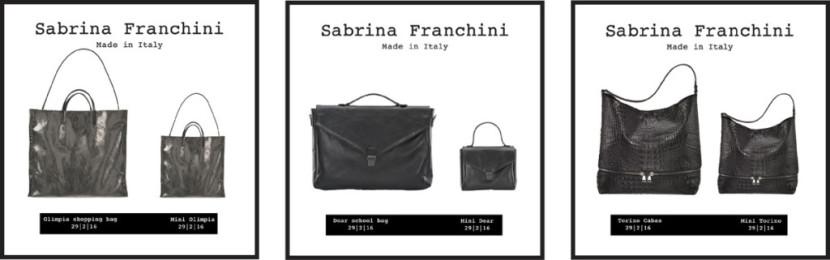 Sabrina Franchini Collezione Autunno-Inverno 2016-2017