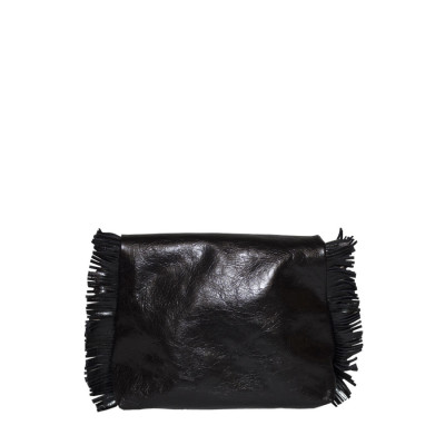 Stupid-clutch-black-mirrored-retro