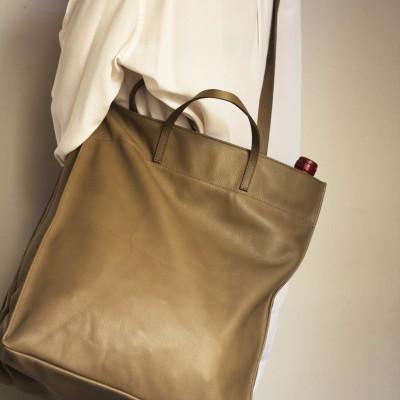 Marcket Bag Nappa Taupe
