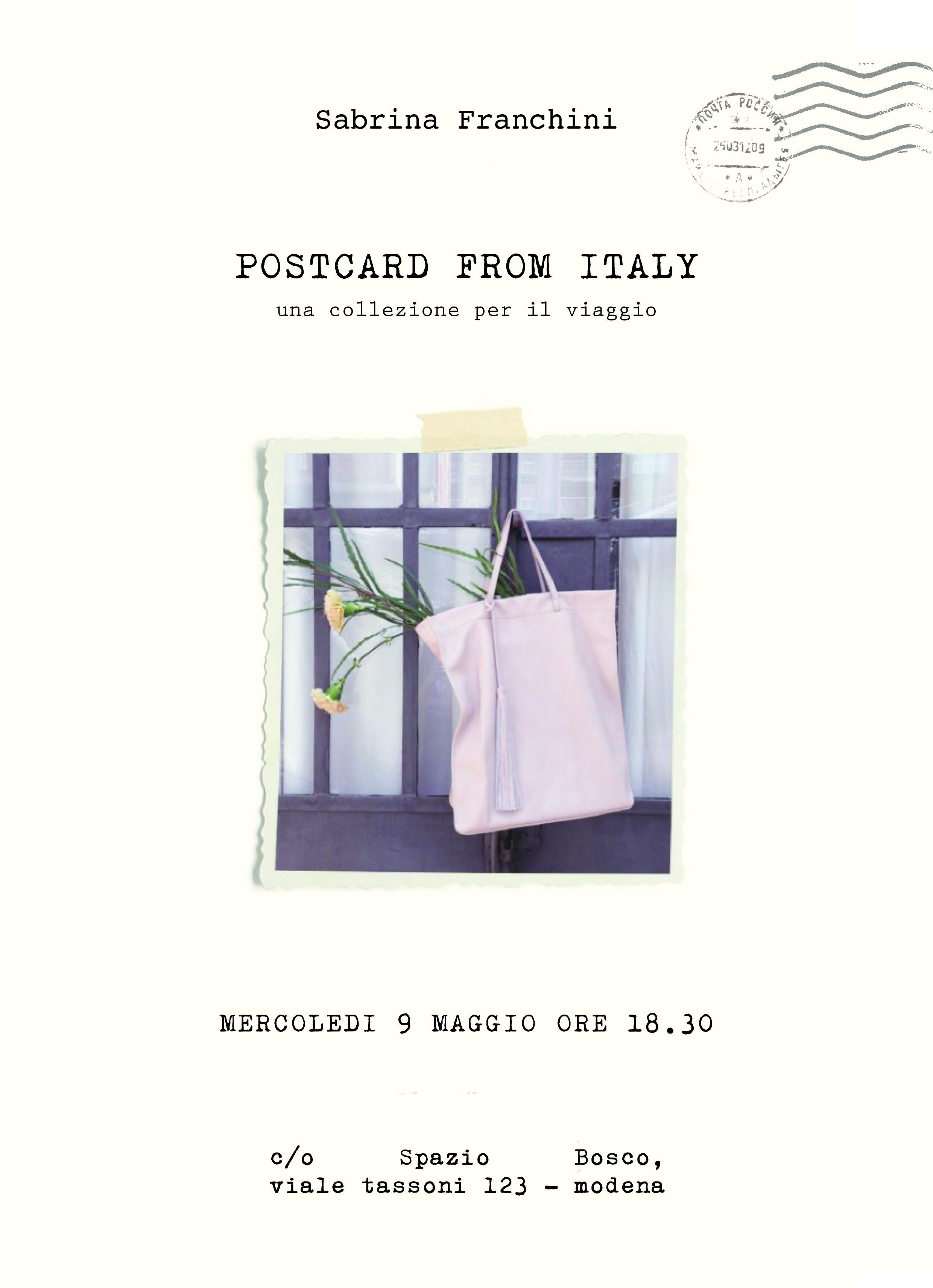 Postcard from Italy – Una collezione per il viaggio