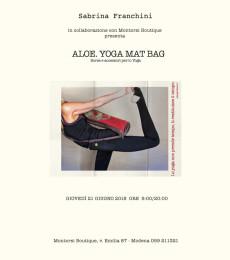 Aloe. Yoga Mat Bag